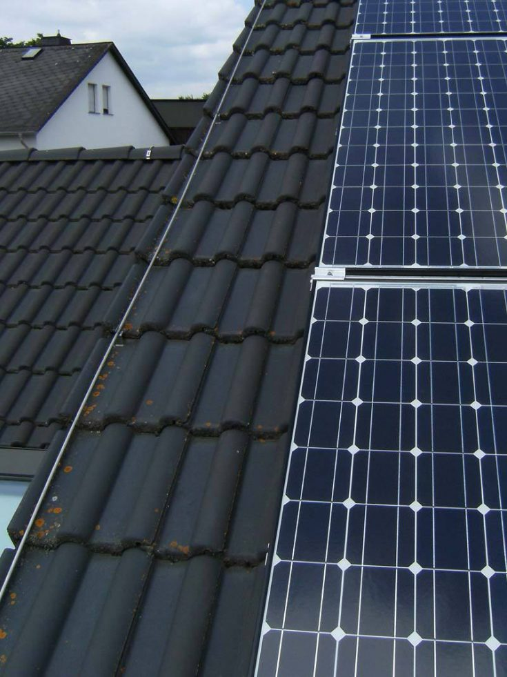 Blitzableiter Photovoltaik